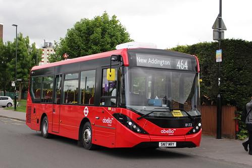 Abellio London 8172 on Route 464, New Addington