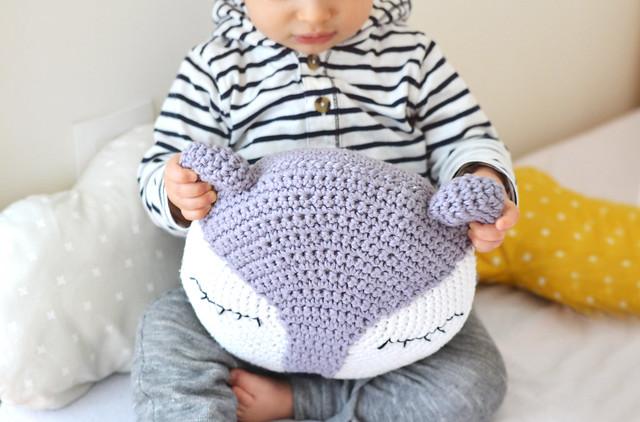 Coussin Renard / Crochet
