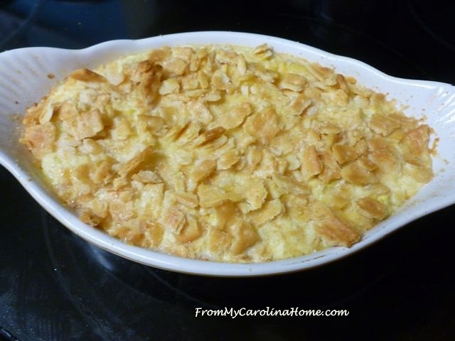 Summer Squash Casserole at From My Carolina Home