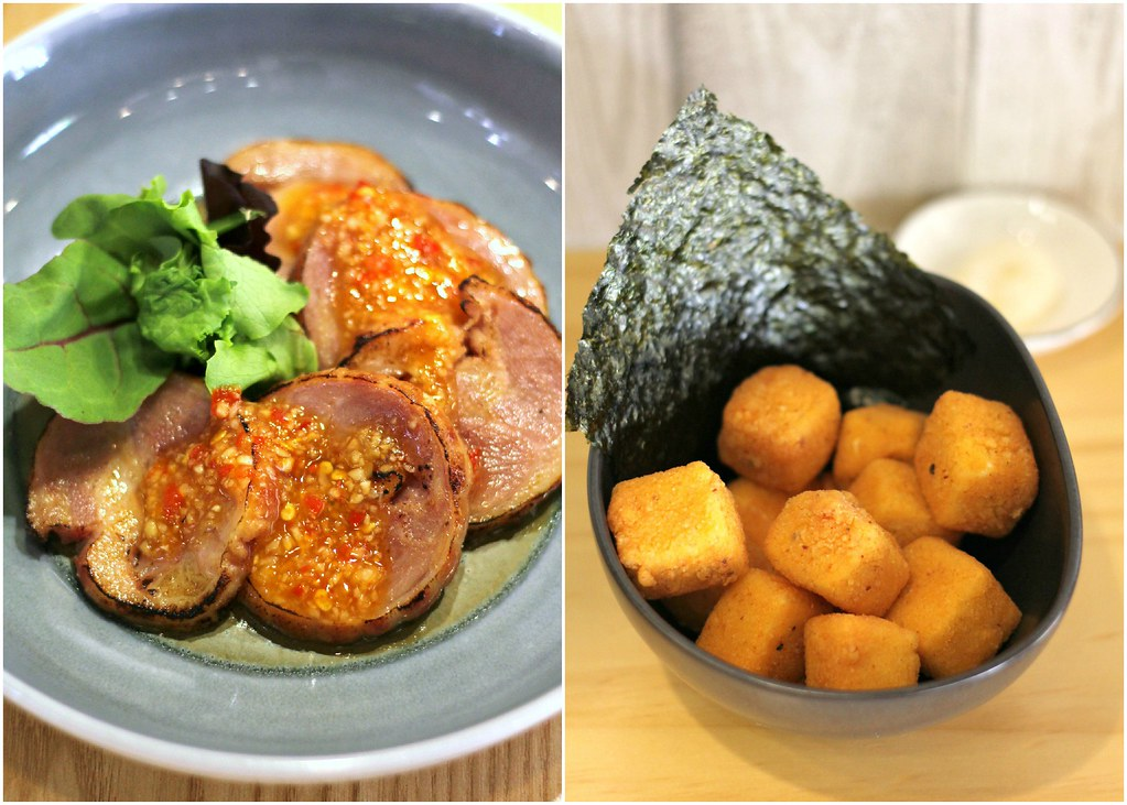 Gonpachi Ramen: Side Dishes