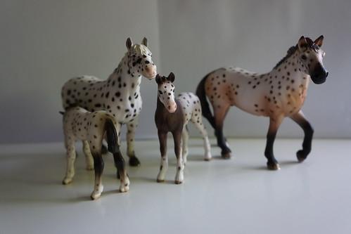 My schleich horse collection