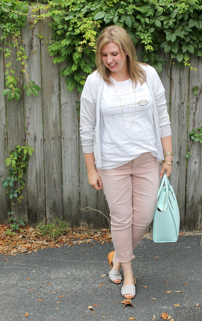 blush jeans dot shoes 5