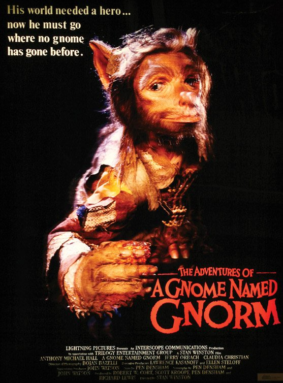 A Gnome named Gnorm - Poster 1