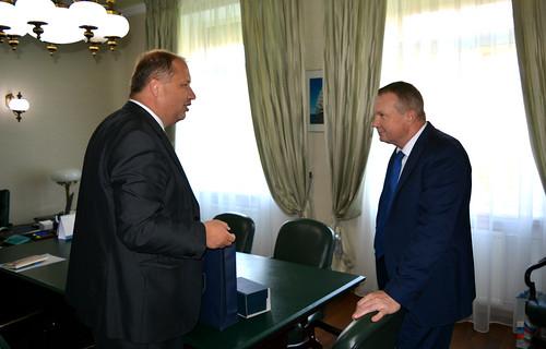 Встреча с Послом Словакии в России П.Припутеном
