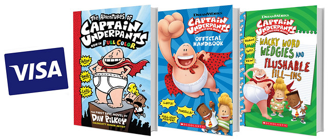 Captain Underpants Prize Pack
