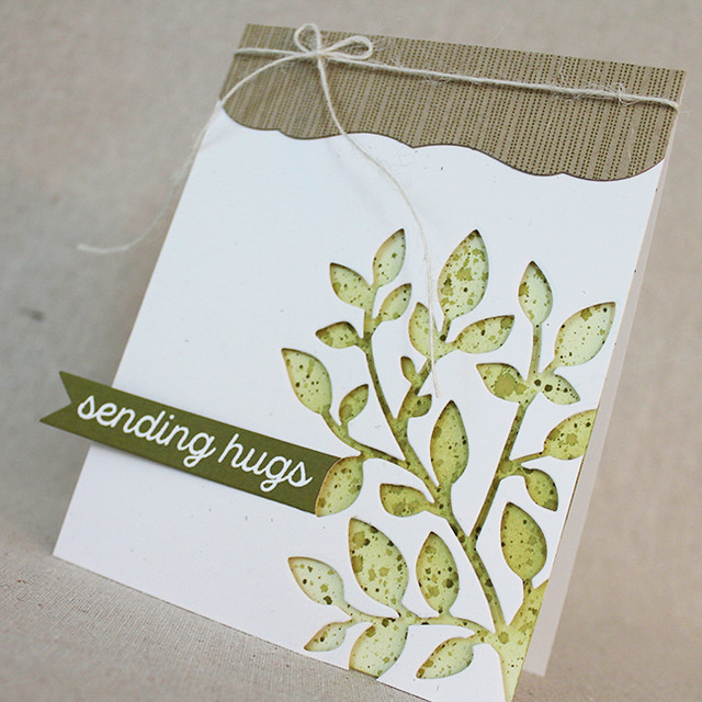 Sending Hugs Branch Card 4