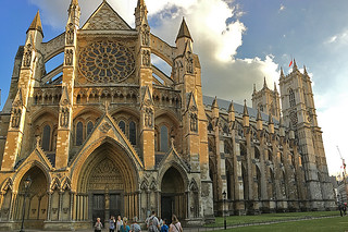 London - Westminster Abbey side