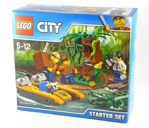 LEGO City 60157 Jungle Starter Set box01