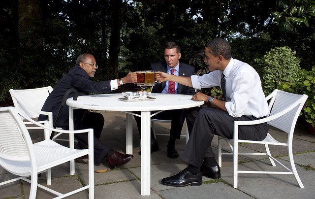 Cheers to politics!