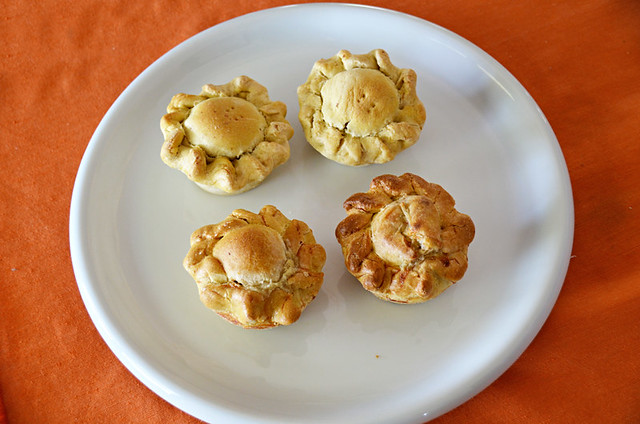 Chicken and veal pies, Azeitao, Portugal