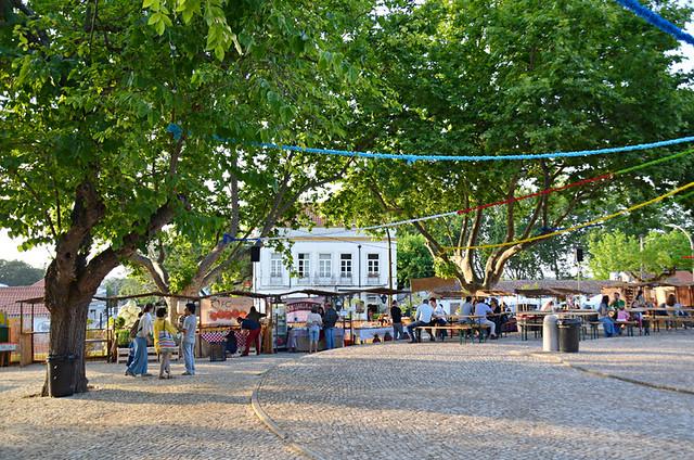 Local food festival, Azeitao, Portugal