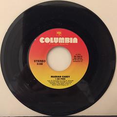MARIAH CAREY:I AM FREE(RECORD SIDE-A)