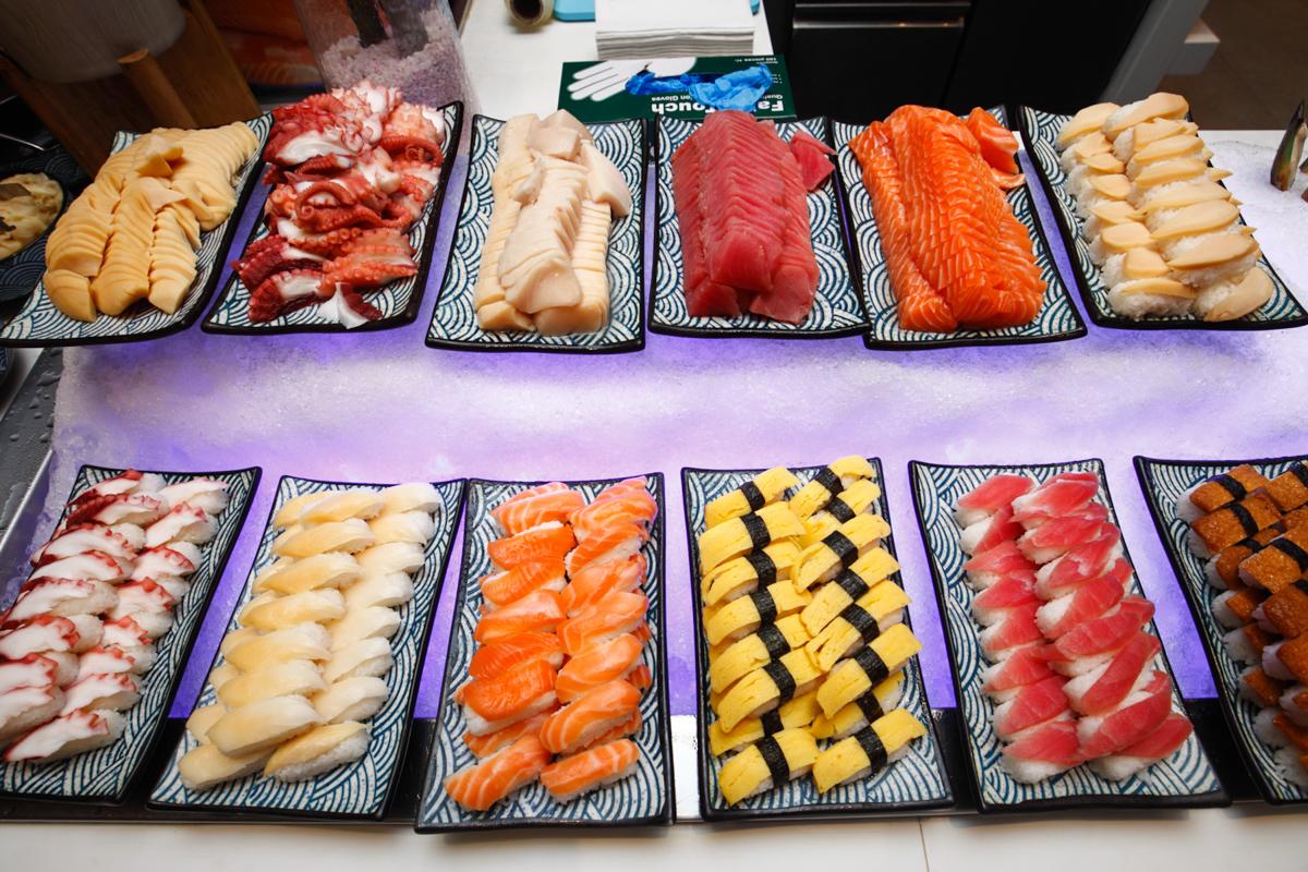 Shangri-la Lemon Garden Buffet Sushi Sashimi