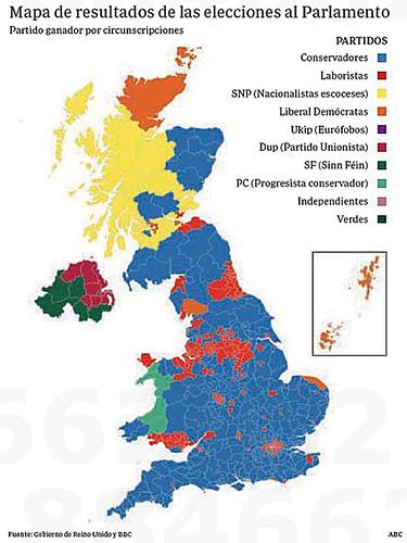 17f10 Reino Unido tras elecciones del 8 junio 2017