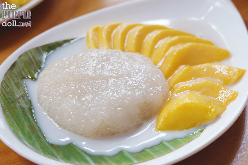 Sticky Rice with Mango (P280)