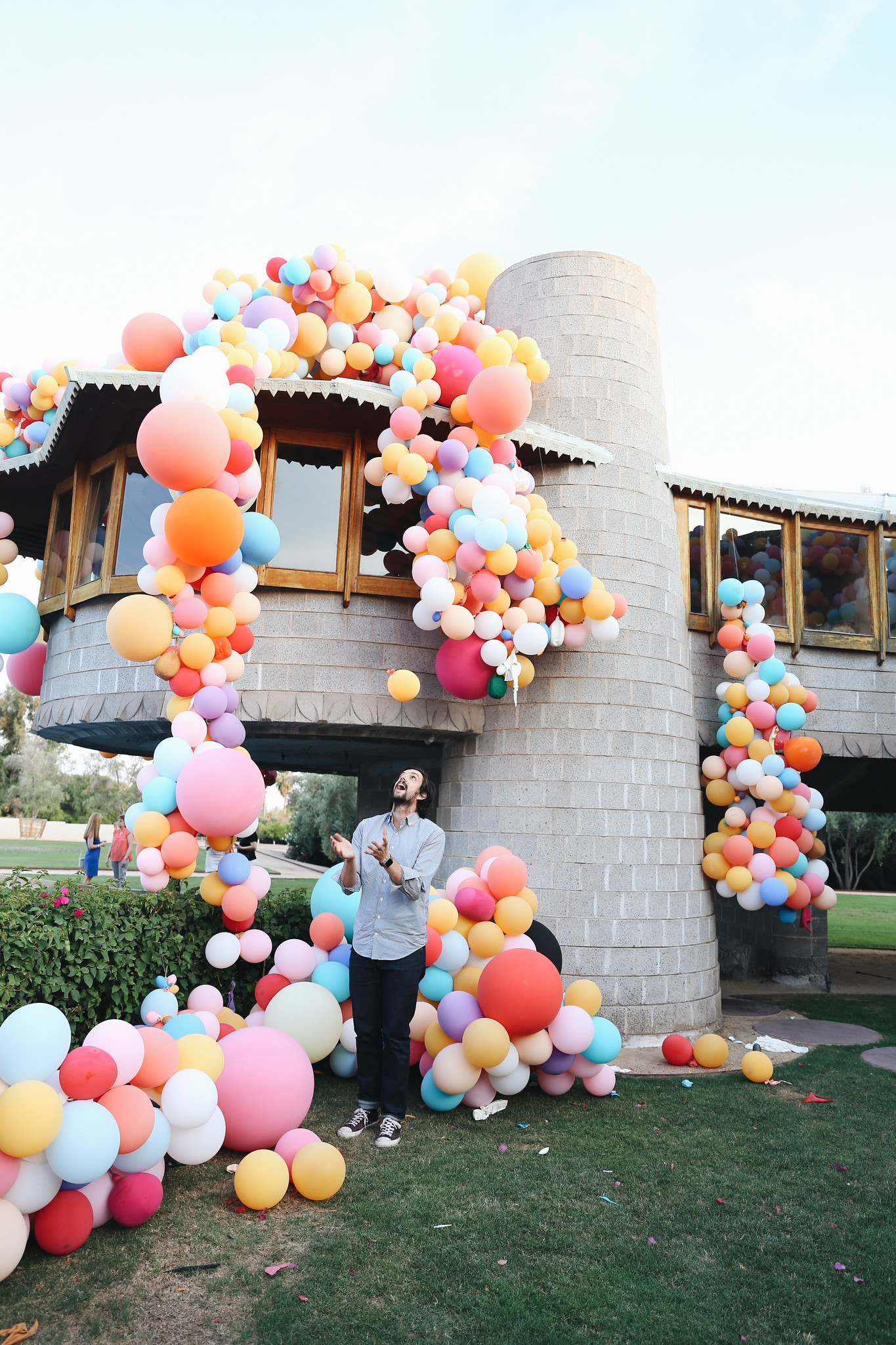 geronimo balloons x david wright house u2014 chelsea bird