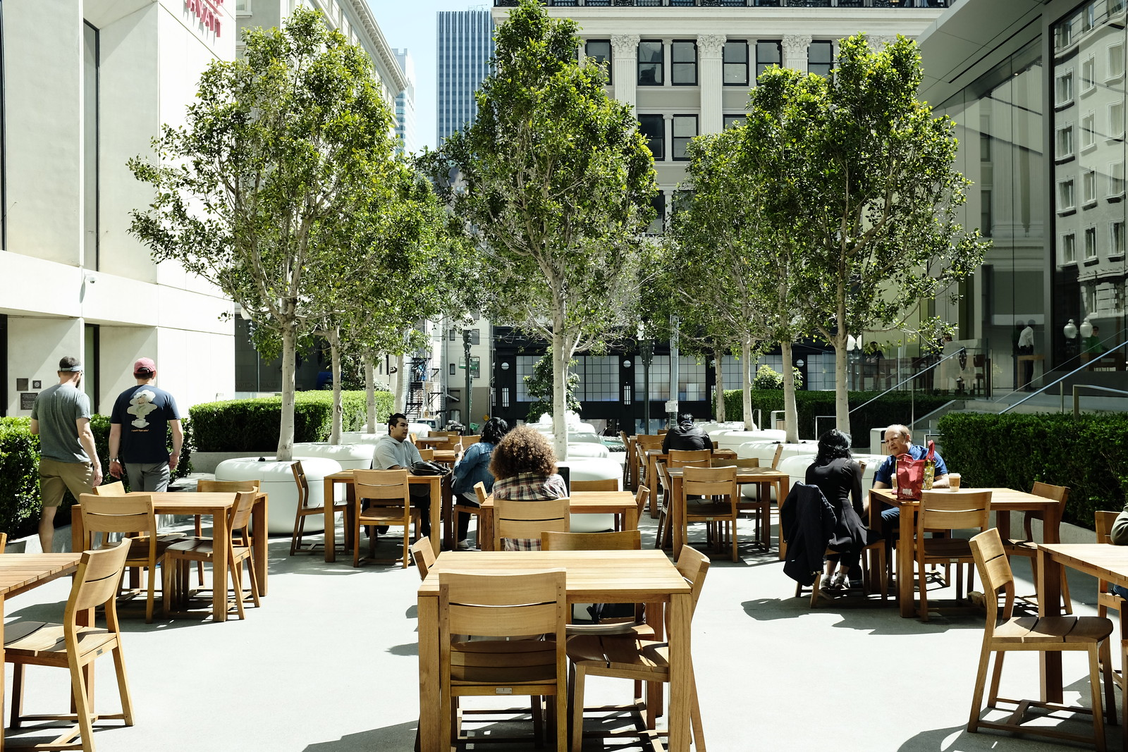 Apple Union Square in San Francisco -2017