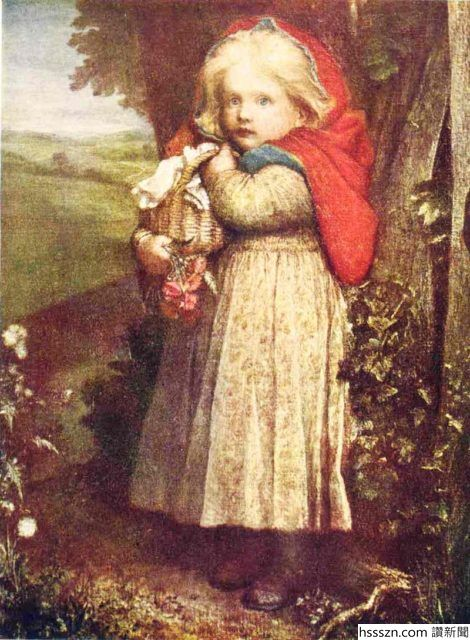 800px-George_Frederic_Watts_-_Red_Riding_Hood_-_Project_Gutenberg_eText_17395-470x640_470_640