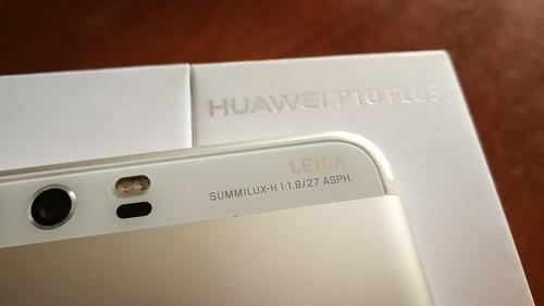 Huawei P10 Plus - Apariencia física