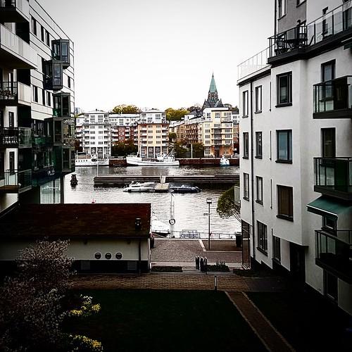 Stoccolma: la pace della vista sull'acqua