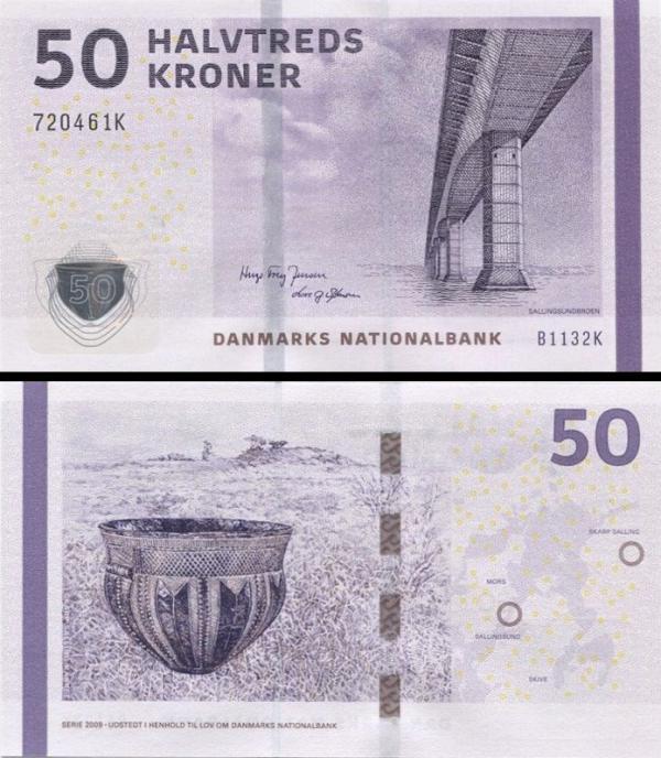 50 Kroner Dánsko 2013, P65f