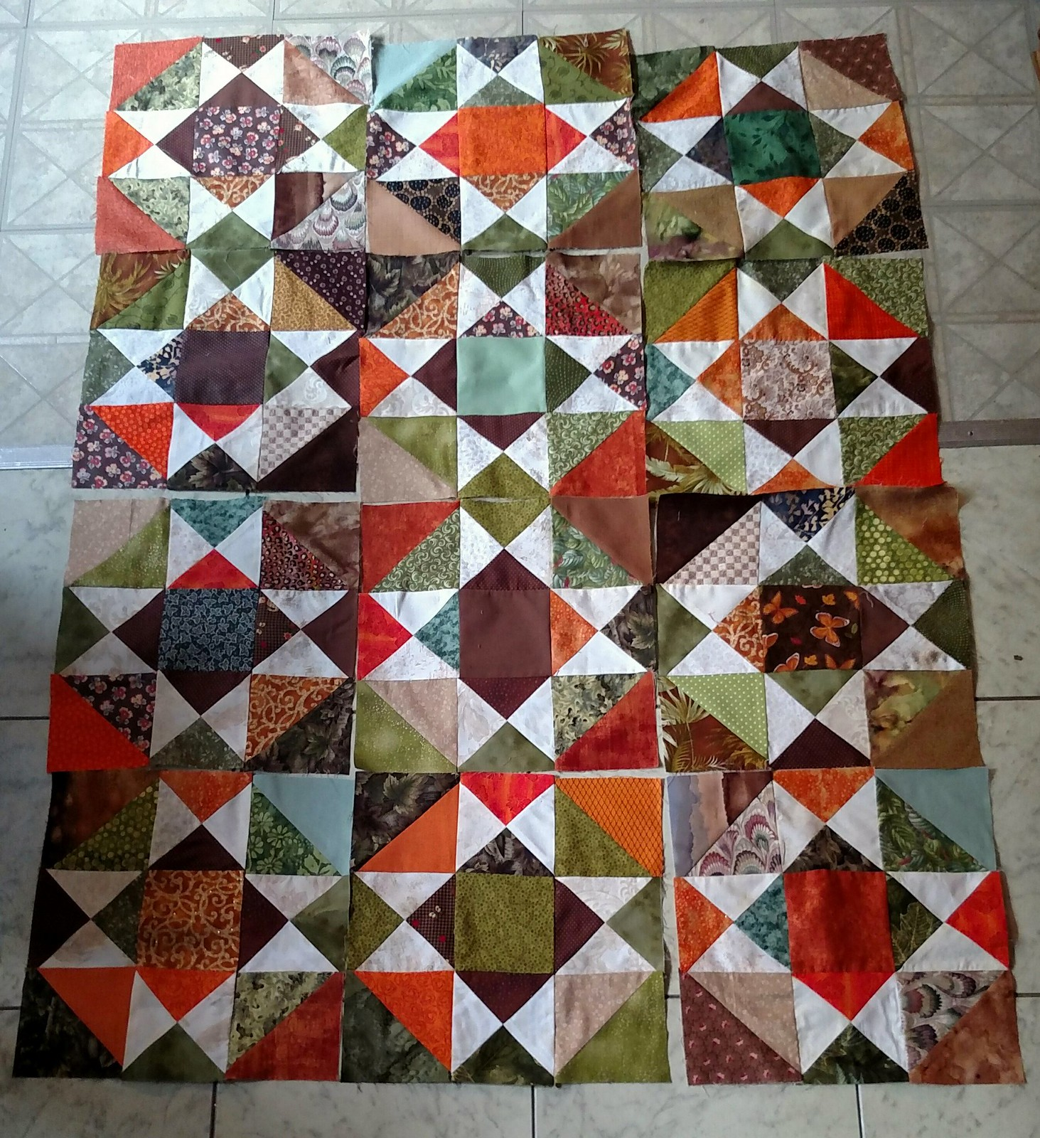 "Scrap Dance two Step .This quilt says""mine"". Thank you Carole."
