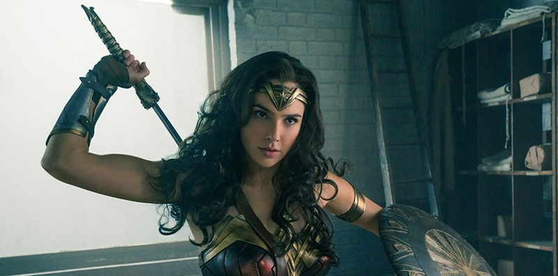 Gal Gadot is well cast in the pretty good -- if not quite wonderful -- WONDER WOMAN.