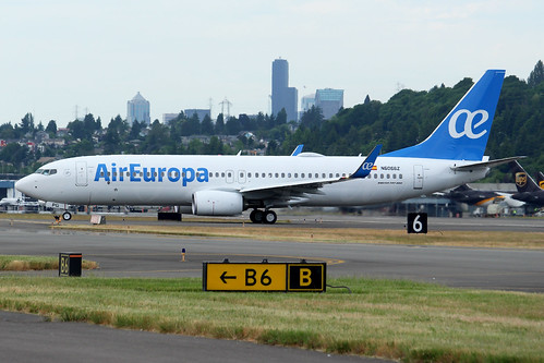Boeing 737-85P(WL) Air Europa N6066Z (EC-MPG) LN6432
