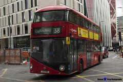 Wrightbus NRM NBFL - LTZ 1180 - LT180 - Clapton Pond 38 - Arriva - London 2017 - Steven Gray - IMG_9187