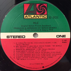 O.S.T.:PELE(LABEL SIDE-A)