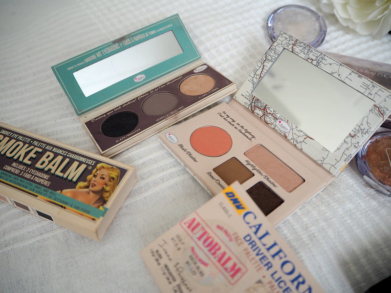 thebalm eyeshadows