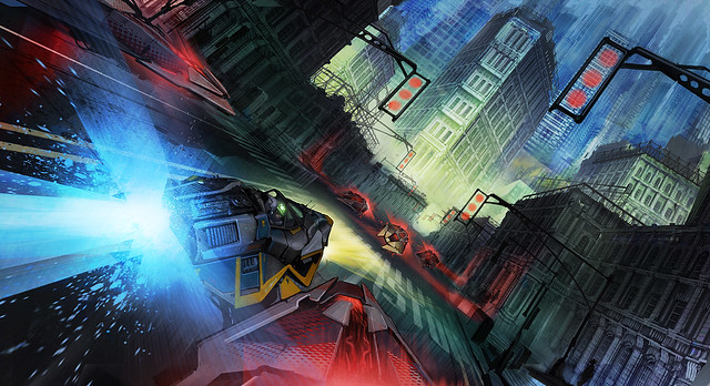 25 Unseen Wallpaper Friendly Pieces Of Wipeout Concept