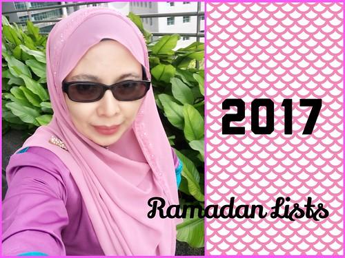 Ramadan List 2017