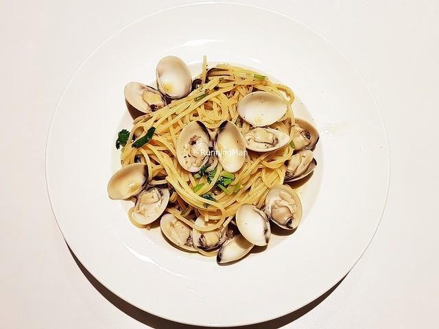 Clams Vongole Spaghetti