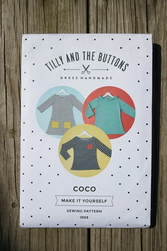 Tilly and the Buttons Coco Top and Dress | by patternandbranch