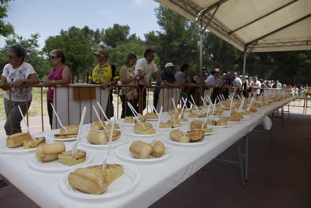 Fiestas de Getafe 2017- Degustación tradicional tortilla de alcachofas