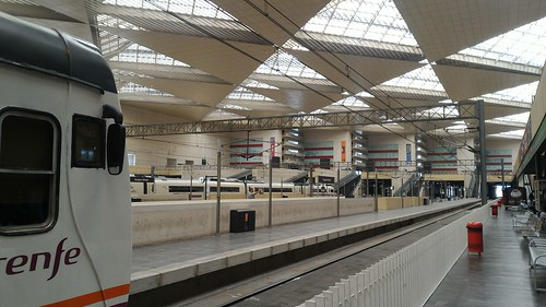 Train Station - Zaragoza, Spain