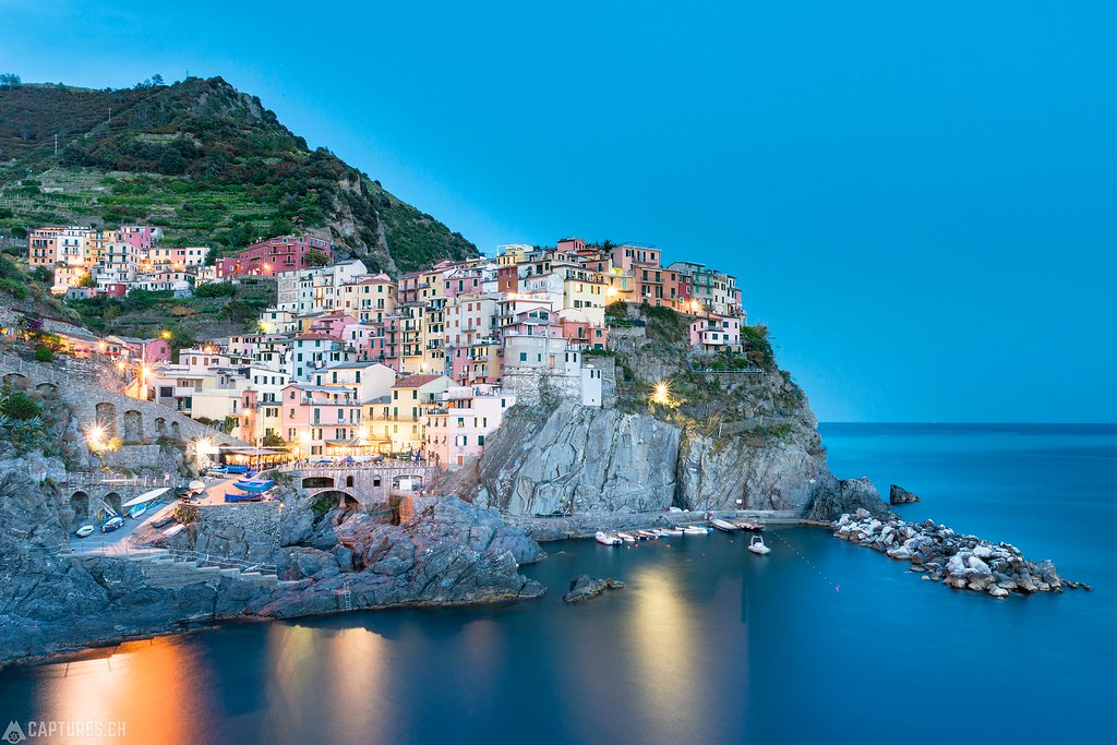 Manarola by night - Cinque Terre