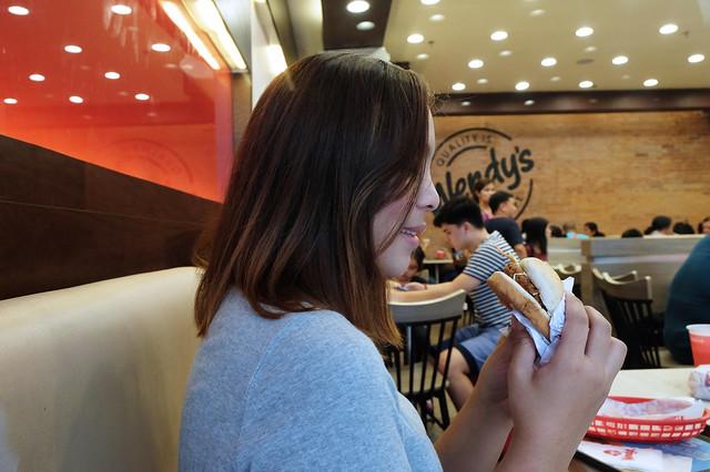14 Patty Villegas - The Lifestyle Wanderer - Seoul - Korea - Wendys - Kimchi Chicken Fillet -3
