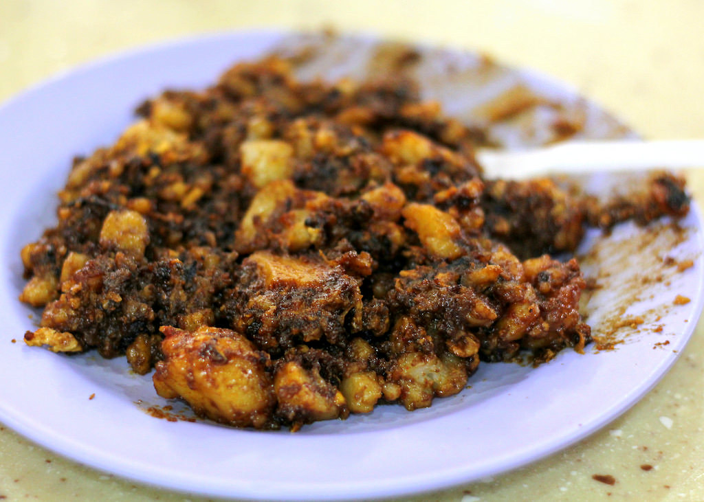 Yuhua Village Market & Food Centre: Seng Huat Homemade Fried Carrot Cake