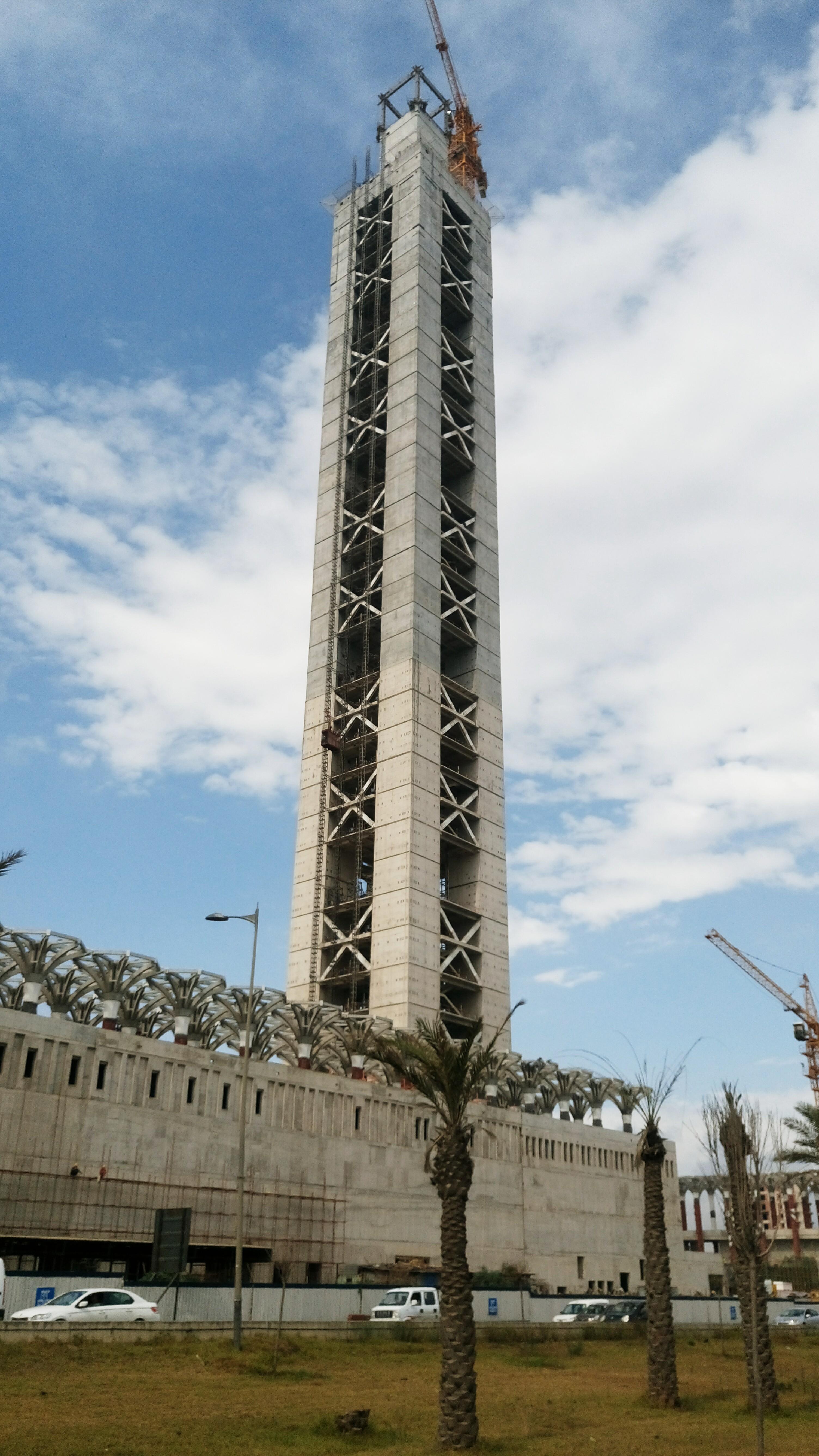 مشروع جامع الجزائر الأعظم: إعطاء إشارة إنطلاق أشغال الإنجاز - صفحة 20 35110884035_02c37575bf_o