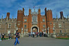 London - Hampton Court Palace crowd