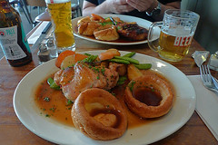 London - The Wharf Chicken roast