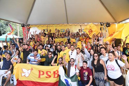 Evento da JSB no 55º Congresso da União Nacional dos Estudantes