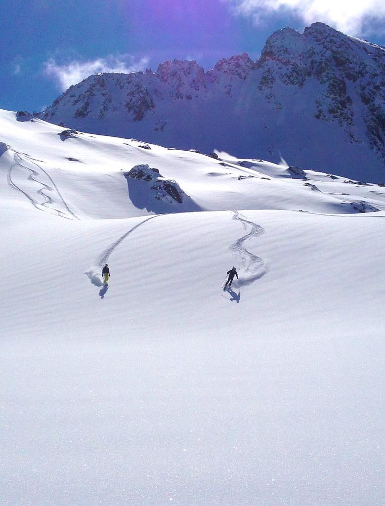 Hiihtovaellus Pyreneillä