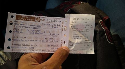 mys blr ticket majestic-hulimavu ticket
