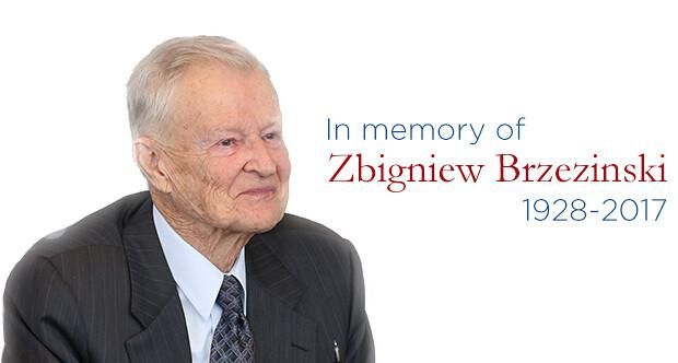 Zbigniew Brzezinski Tribute