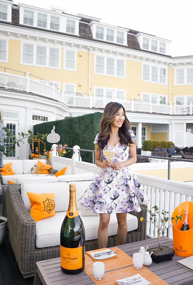 veuve clicquot champagne bar ocean house