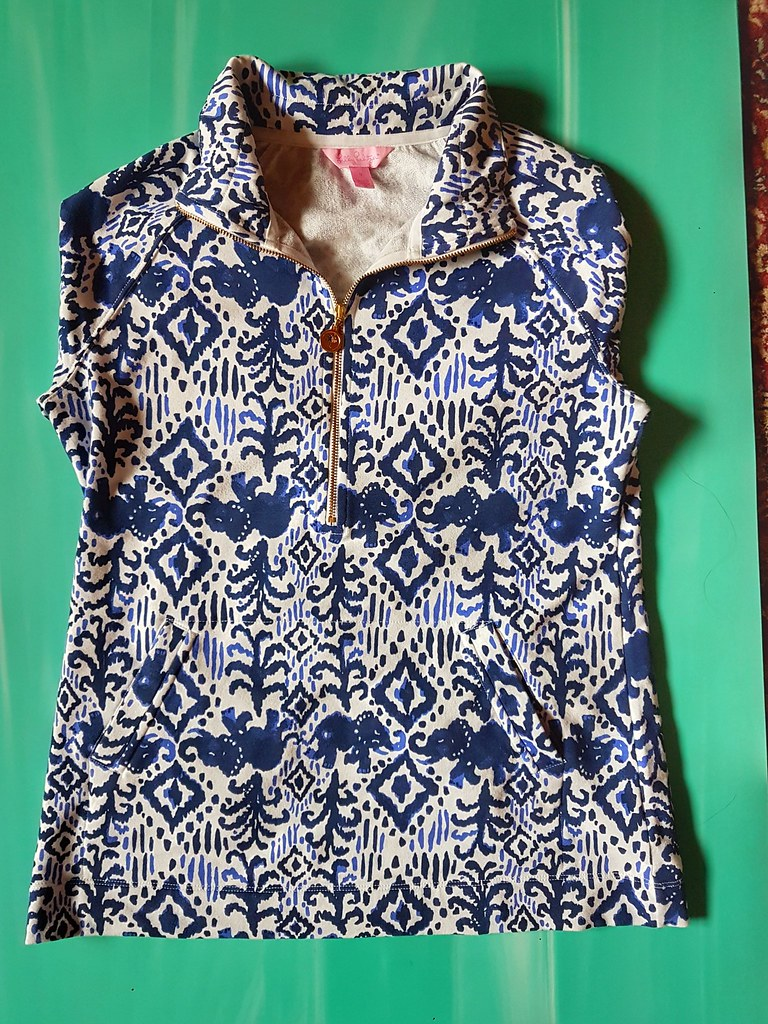 Lilly Pulitzer Tons of Fun Popover full length