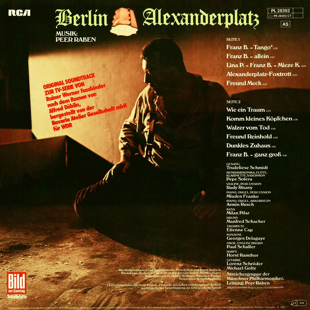 Peer Raben - Berlin Alexanderplatz